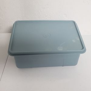 Tupperware Tuppercraft Container Blue